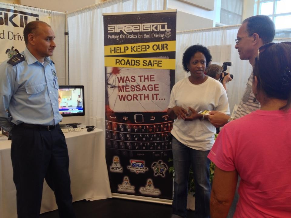 Streetskill Promotes Road Safety at the Island Living Show